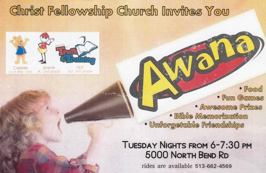 Cincy Awana flyer