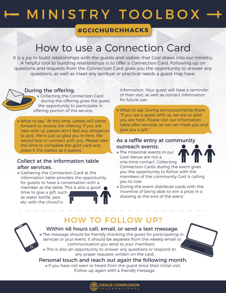 Church Visitor Card Template from equipper.gci.org