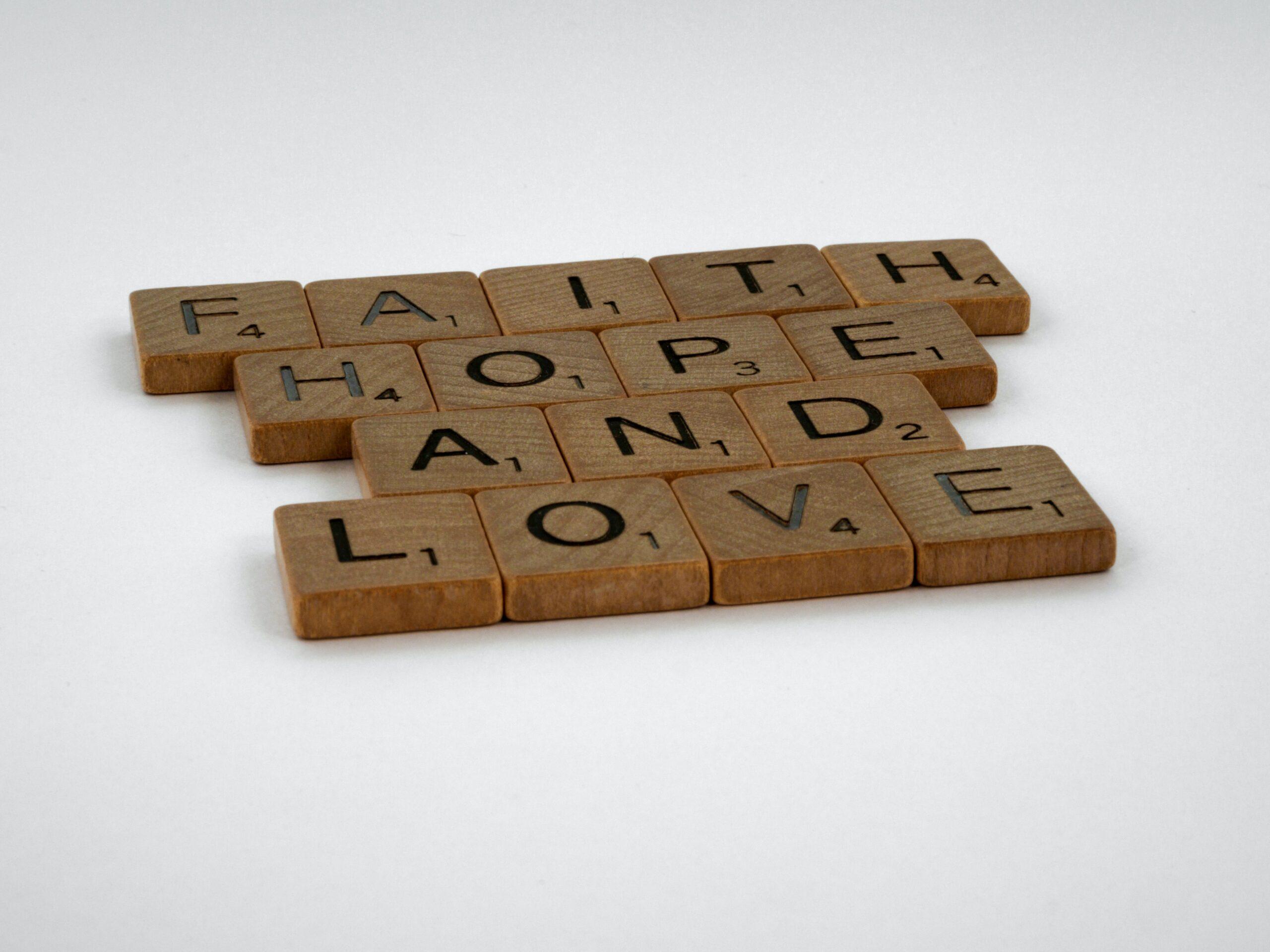 Hope, Faith and Love in a Fellowship Group